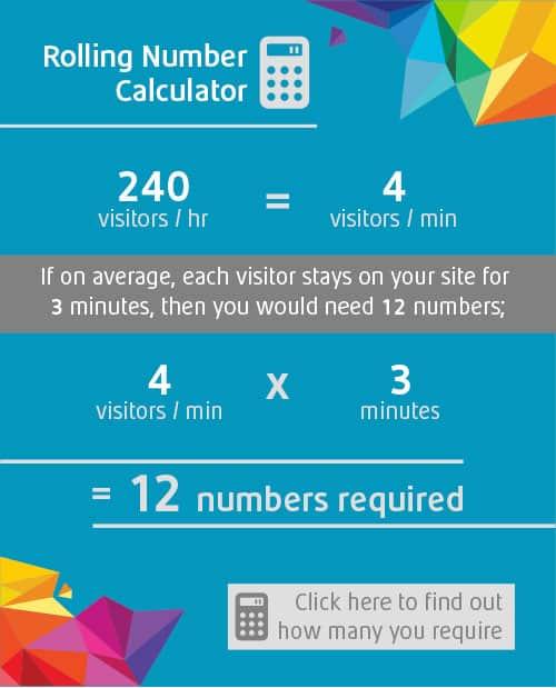 Rolling Numbers Calculator