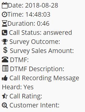 Call Rating