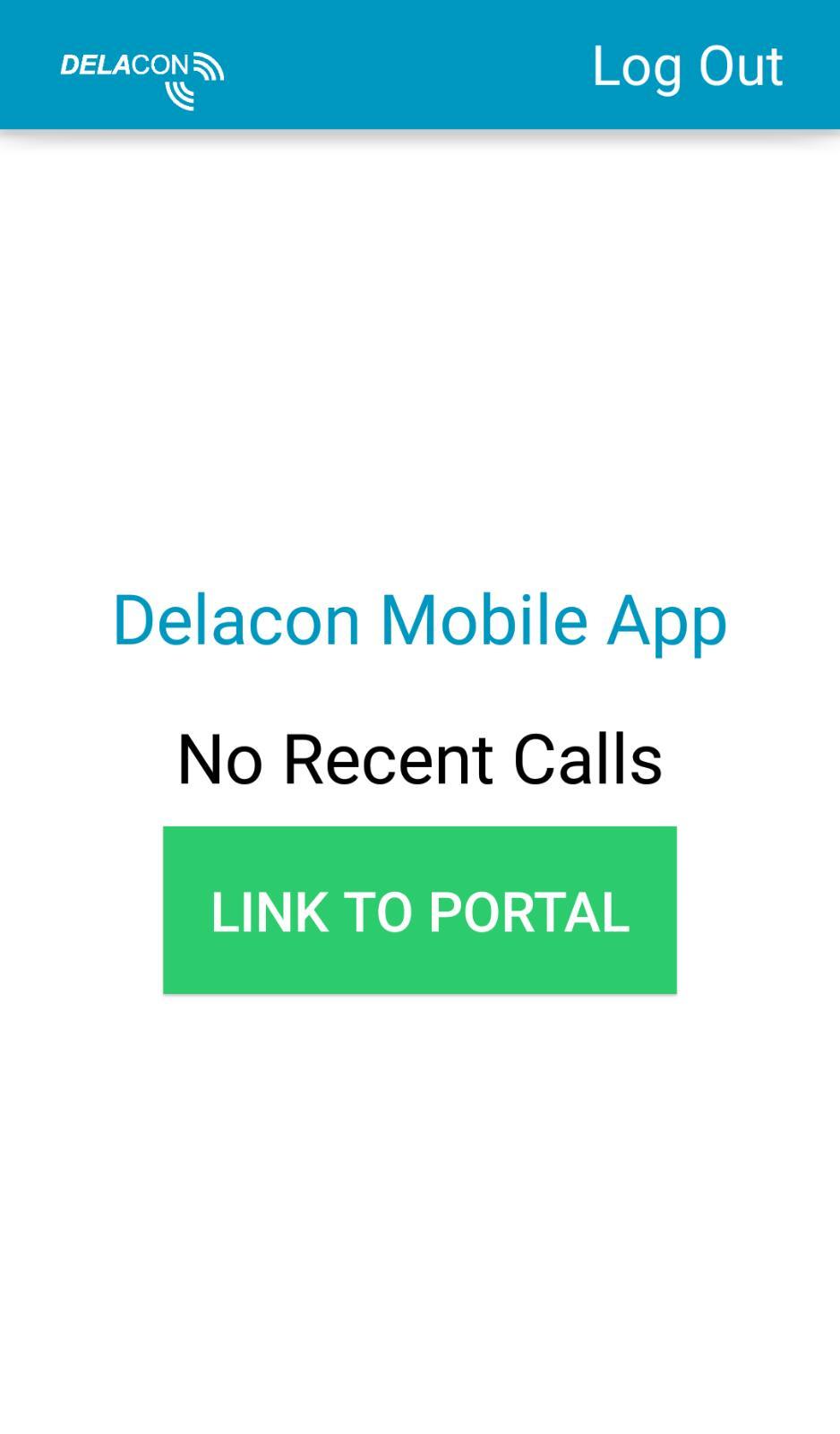 Delacon Android App – Home Screen