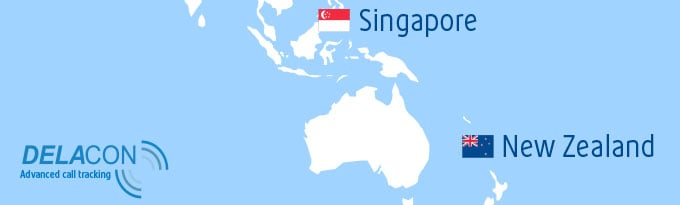 Delacon's Call Tracking Solution Launches In Singapore And New Zealand
